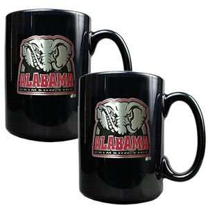 Alabama Crimson Tide NCAA 2pc Coffee Mug Set