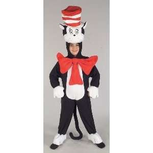 Cat In Hat Deluxe Child Costume Size Small Toys & Games