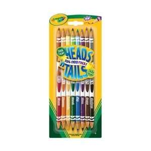 Crayola Heads n Tails Dual Ended Colored Pencils 8/Pkg 68