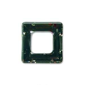 Dorado Swarovski Crystal Square Frame Charm 4439 14mm
