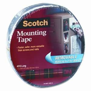o Scotch o   Double Sided Mounting Tape, Removable, Gray
