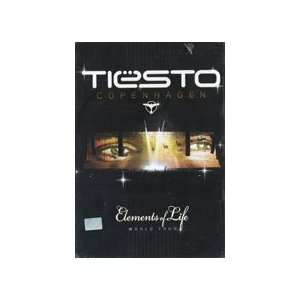 Tiesto   Elements of Life World Tour 2 DVDs (PAL) Tiesto Movies & TV