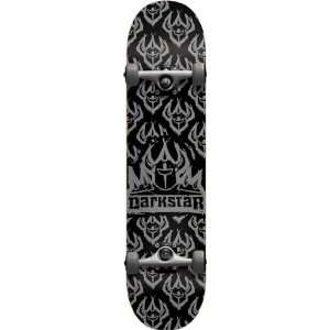 Darkstar Etch Complete   7.8 Black/Silver w/Darkstar Trucks & Wheels
