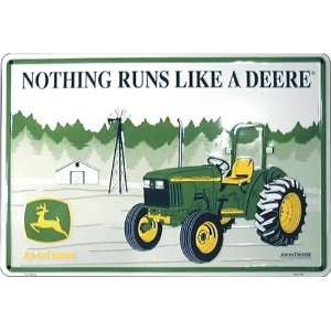 John Deere This Farm Uses Quality Equipment Parking Sign: Automotive