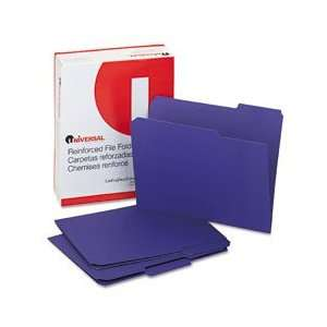 Universal® Colored File Folders With Top Tabs