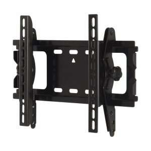 Black 15 To 40 Tilting Flat Panel Wall Mount Electronics