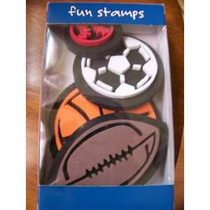 Lets Play Ball Fun Foam Sports Ball Stamps for Walls, Fabric, Decor