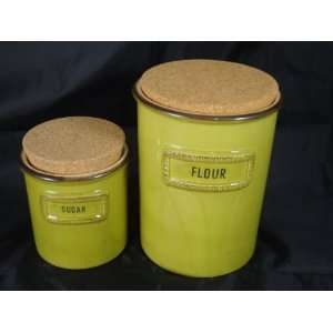 Sugar/Flour Canster Set 30/1 2 AV & 30/4 AV: Kitchen & Dining