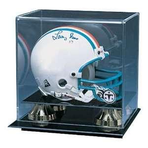 Titans NFL Deluxe Mini Football Helmet Display Case
