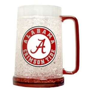 Alabama Crimson Tide NCAA Crystal Freezer Mug