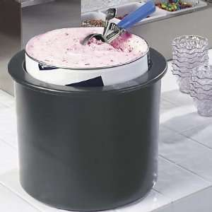 Coldmaster Ice Cream Server with Dome Lid   Fits Standard 3 Gallon Tub