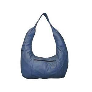 Genuine leather handbags   Navy Blue color, One of our leather purses