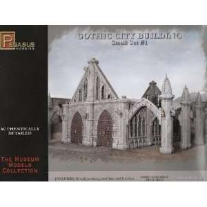 Pegasus 28mm Gothic City Building Small Set #1 Kit Toys & Games