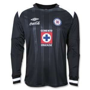 Cruz Azul 10/11 LS Goalkeeper Jersey:  Sports & Outdoors