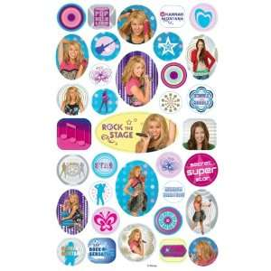Hannah Montana Stickers   2 Sheets Toys & Games