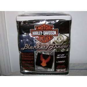 Harley Davidson Motor Cycles Blanket/throw