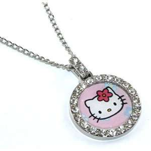 Licensed Sanrio Hello Kitty Classic Charm Necklace with