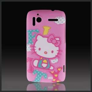 Hello Kitty Patch Letters Pink Designd hard case cover