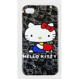 Smile Case Hello Kitty Premium Black Cute Silicone Full Cover Case