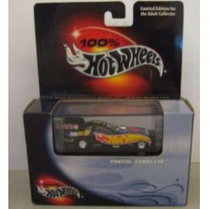 Hot Wheels 100% Pontiac Funny Car Black Box Toys & Games