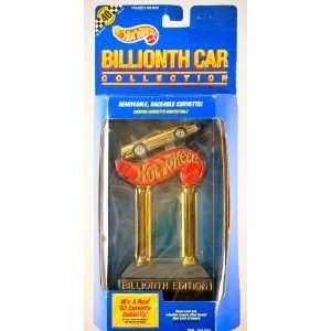 1990   Mattel / Hot Wheels   Billionth Car Collection   Custom Gold