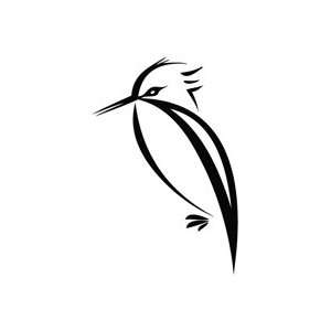 Woodpecker Stand   Animal Decal Vinyl Car Wall Laptop