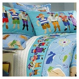 Olive Kids   Pirates Full Size Comforter and Sheet Set