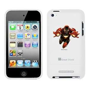 Iron Man Two Hands on iPod Touch 4g Greatshield Case