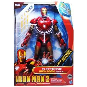 Movie Series 12 Inch Tall Electronic Action Figure   IRON MAN MARK