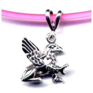16 Pink Griffin Necklace Sterling Silver Jewelry Gift Boxed