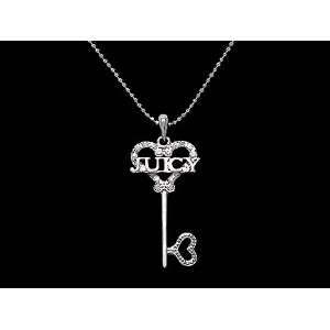 Juicy Look Crystal Heart Key Couture Necklace   Matching