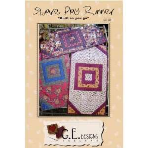 Square Play Table Runner Pattern