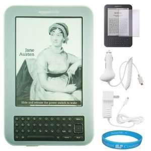 Premium Clear Durable Silicone Skin Cover for  Kindle 3