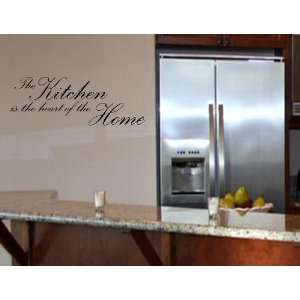 THE KITCHEN IS THE HEART OF THE HOME Vinyl wall quotes