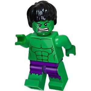 LEGO Marvel Super Heroes Exclusive Mini Figure Hulk with Ripped Purple