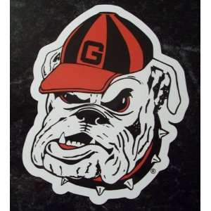 Georgia Bulldogs Mascot Logo NCAA Car Magnet Sports
