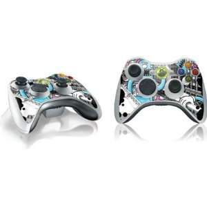 Monster City Vinyl Skin for 1 Microsoft Xbox 360 Wireless Controller