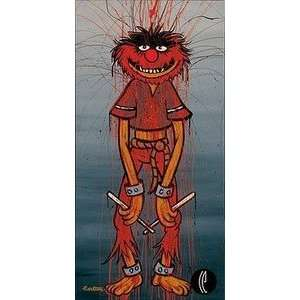 The Muppets Animal Disney Fine Art Giclee by Trevor Carlton