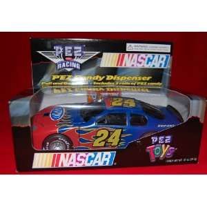 Jeff Gordon #24 Nascar Race Car Pez Dispenser with bonus Helmet