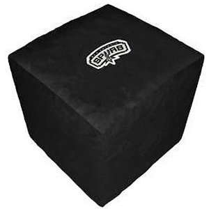 San Antonio Spurs NBA Team Logo Cube Ottoman Sports