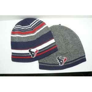 NFL Houston Texans Reversible Knit Beanie Hat Ski Skull