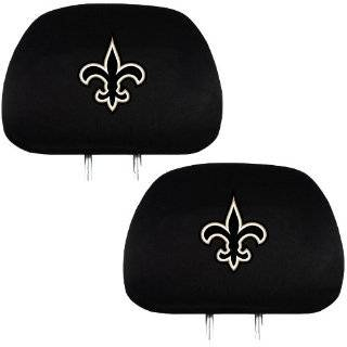 NFL New Orleans Saints Car Floor Mats Heavy Duty 4 Piece Vinyl   Front