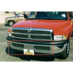 Rex Grilles 1994   2001  Dodge Ram Pickup  Bumper Billet Grille