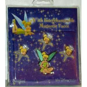 Disney Pin Tinker Bell Interchangeable Magnetic Faces Pin