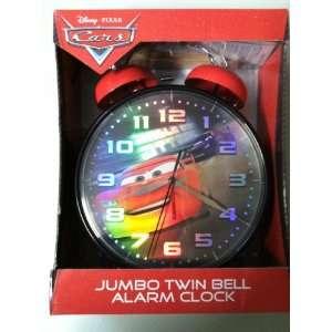 Disney Pixar Cars Jumbo Tiwn Bell Alarm Clock
