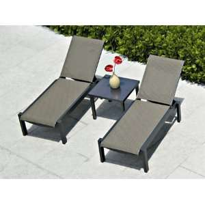 Mgp Sling Pool Patio Recycled Plastic Lounge Set Patio, Lawn & Garden