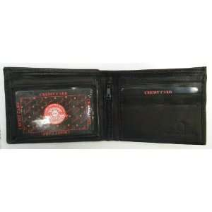 Window Mens Wallet Card Currency Picture Pockets