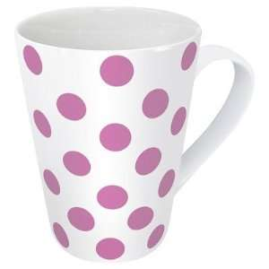 Gift for All Occassions Polka Dots Mug in Pink [Set of 2