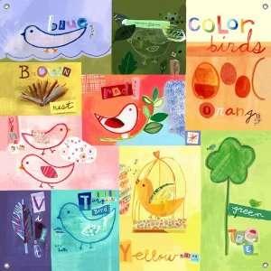 Rainbow Birds Mural Banner: Toys & Games