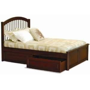 Windsor Full Bed Frame   Raised Panel Footboard